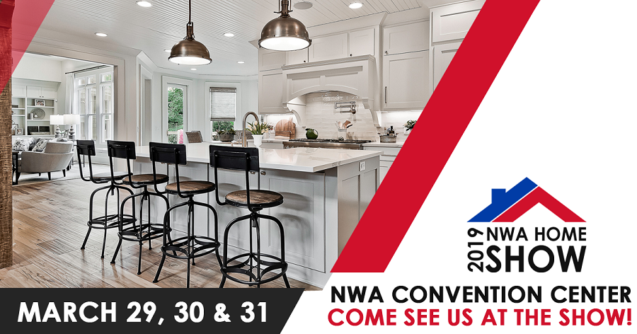 Join The Stitt Group at the Northwest Arkansas Home Builders Association 2019 Spring Home Show, March 29 - 31, at the Holiday Inn Convention Center in Springdale, AR.