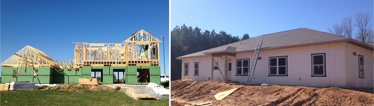 Choose from frame or ICF wall construction for your energy efficient, custom home.