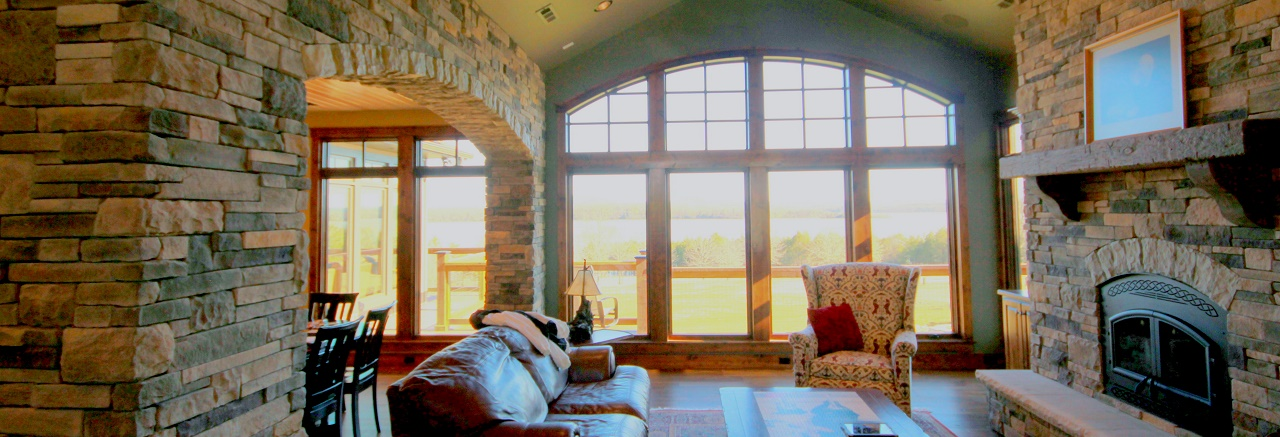 Well-placed windows frame your best views, bring natural light inside and reduce heating and cooling loads.