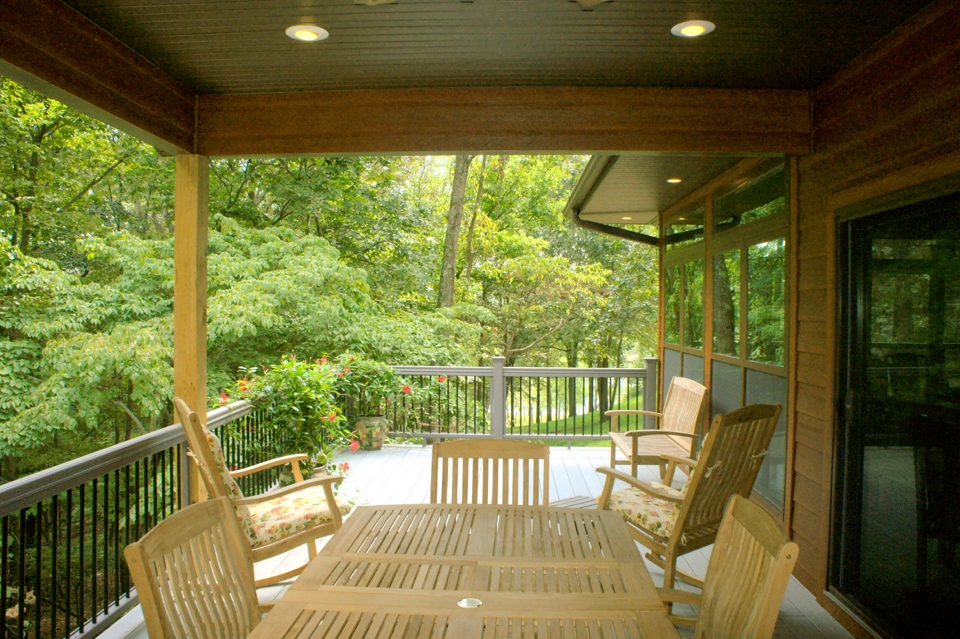 A connected combination of covered and uncovered decks is the best of both worlds.