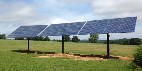 Solar Grid Tied with Battery Backup in Fox, AR